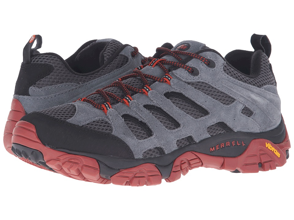 Merrell - Moab Ventilator (Castle Rock/Black) Men's Lace up casual Shoes