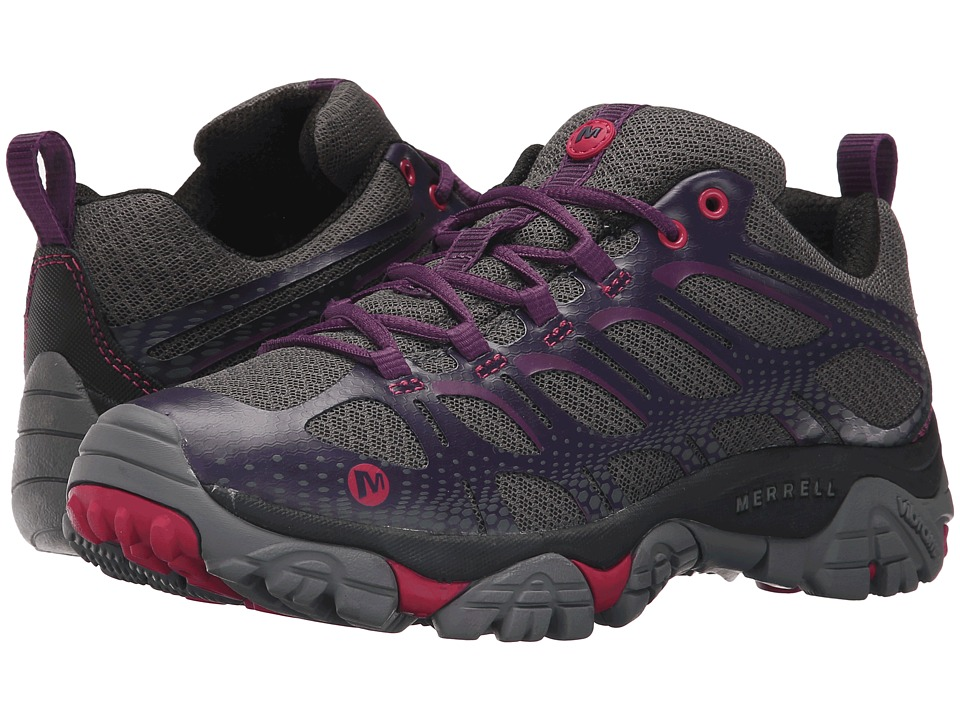 Merrell - Moab Edge (Plum Plumeria) Women's Shoes
