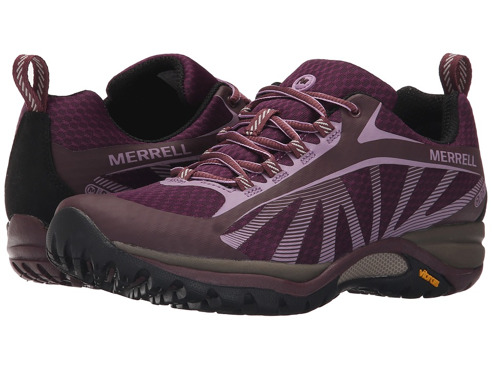 Merrell - Siren Edge Waterproof (Huckleberry) Women's Lace up casual Shoes