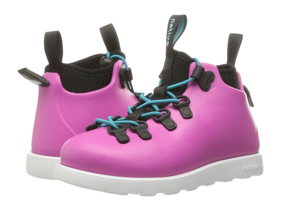 Native Kids Shoes - Fitzsimmons (Toddler/Little Kid) (Samba Pink/Shell White) Girls Shoes