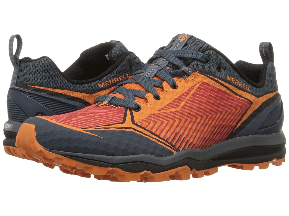 Merrell - All Out Crush Shield (Merrell Orange) Men's Lace up casual Shoes