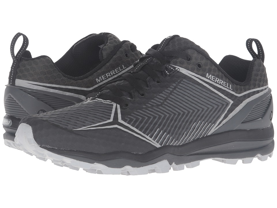 Merrell - All Out Crush Shield (Black/Granite) Men's Lace up casual Shoes