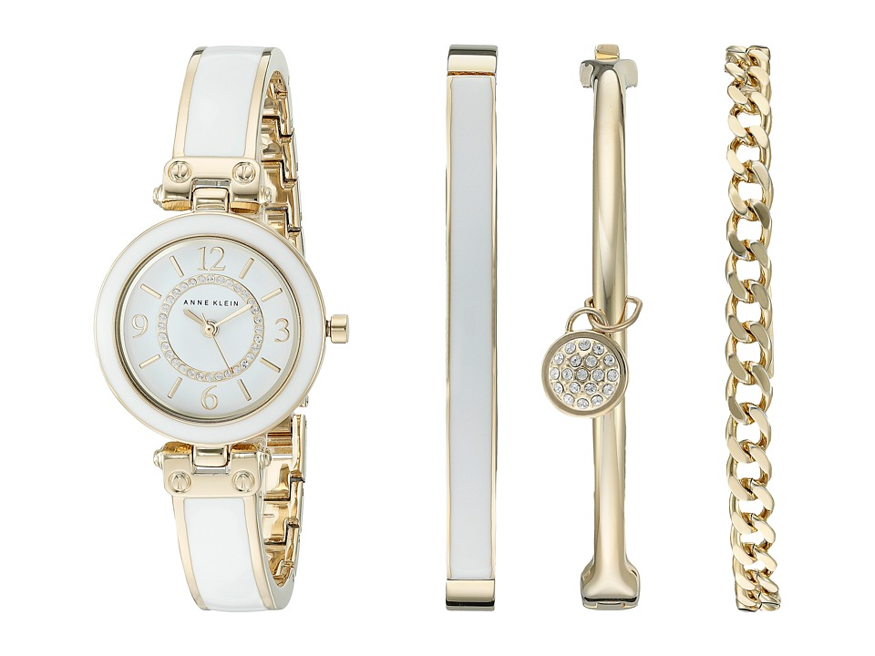 Anne Klein - AK-2016WTST (White) Watches