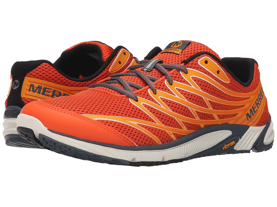 Merrell - Bare Access 4 (Merrell Orange) Men's Shoes