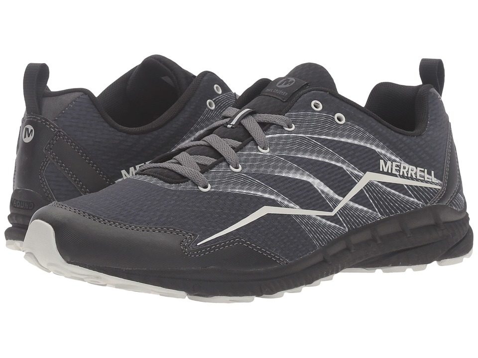 Merrell - Trail Crusher (Granite/Black) Men's Lace up casual Shoes