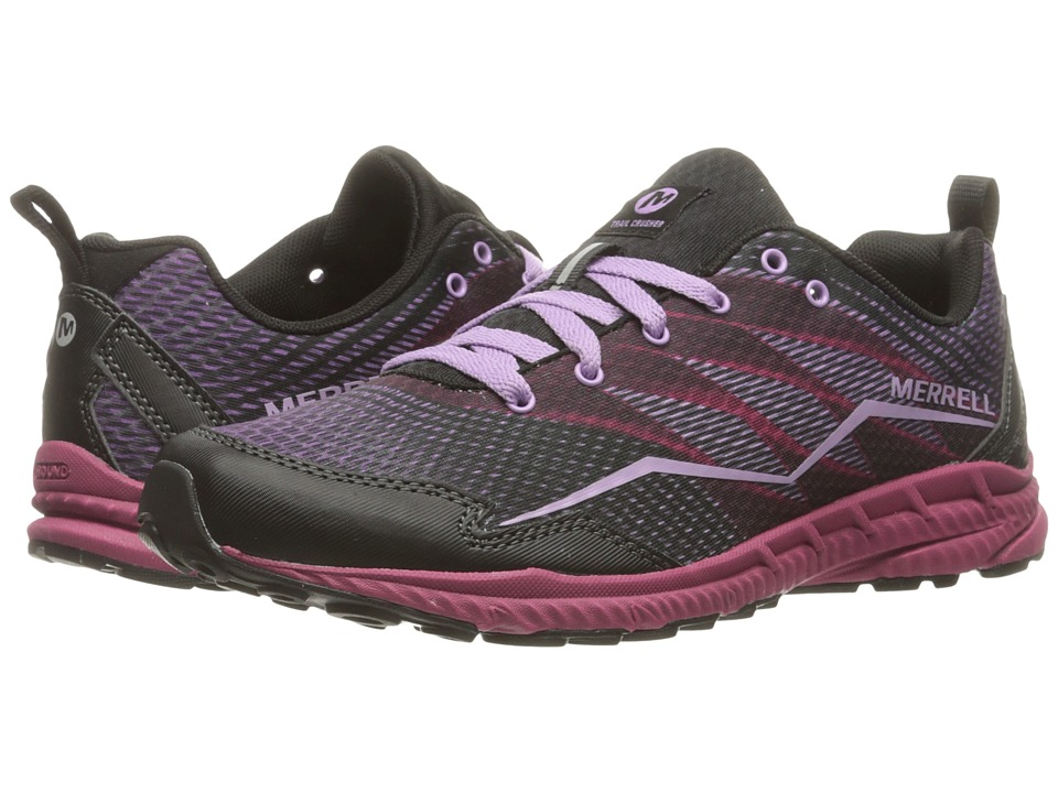 Merrell - Trail Crusher (Pink/Black) Women's Lace up casual Shoes
