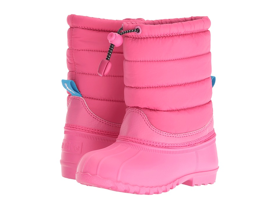 Native Kids Shoes - Jimmy Puffy (Toddler/Little Kid) (Hollywood Pink/Hollywood Pink) Girls Shoes