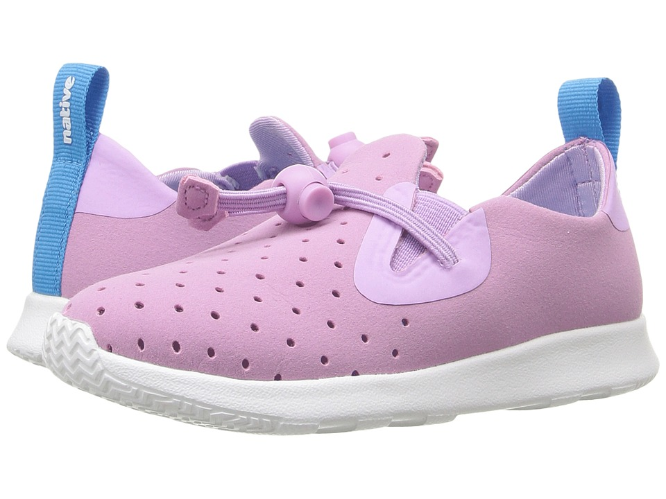 Native Kids Shoes - Apollo Moc (Toddler/Little Kid) (Sage Purple/Shell White) Girl's Shoes