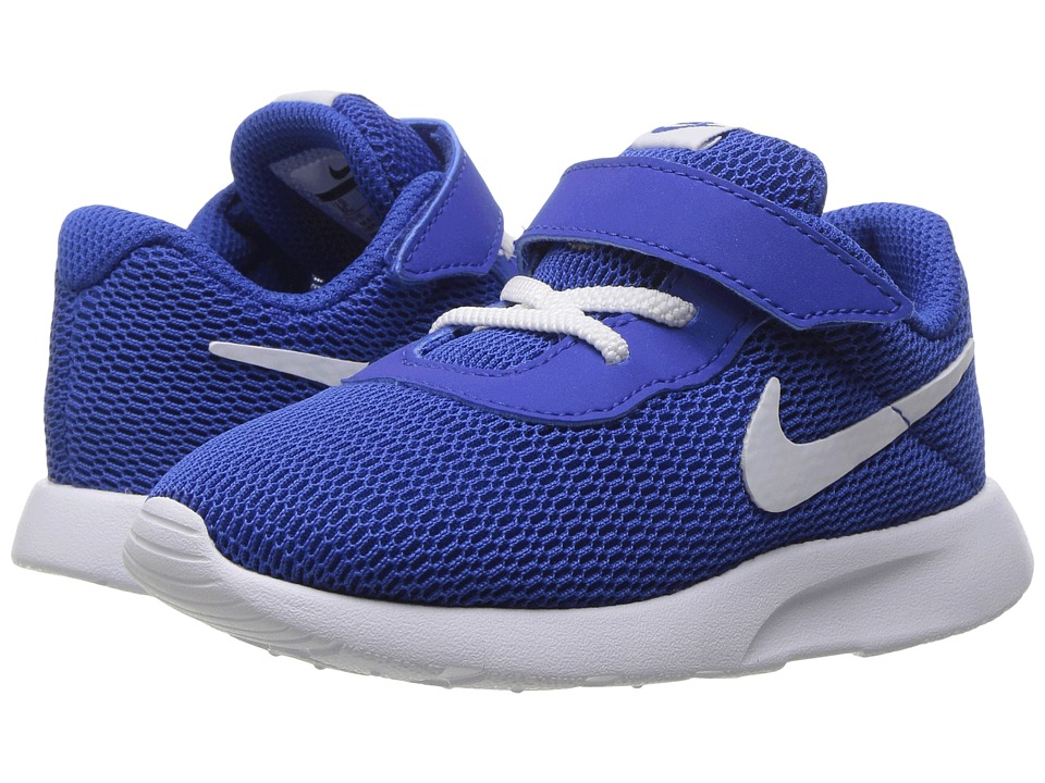 Nike Kids - Tanjun (Infant/Toddler) (Game Royal/White) Boys Shoes