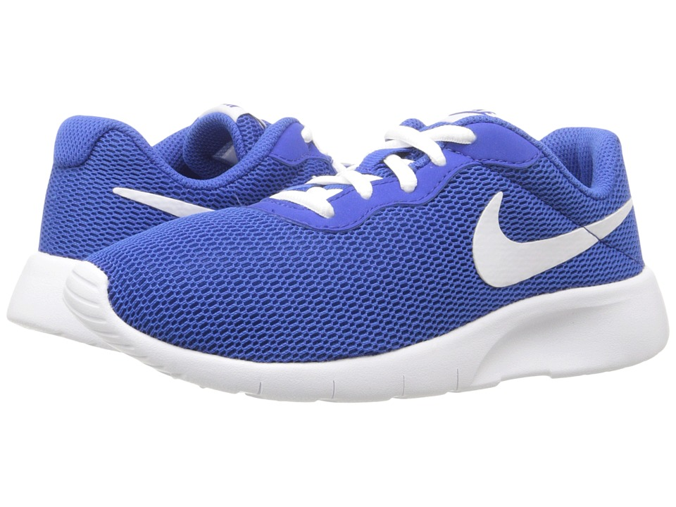 Nike Kids - Tanjun (Big Kid) (Game Royal/White) Boys Shoes