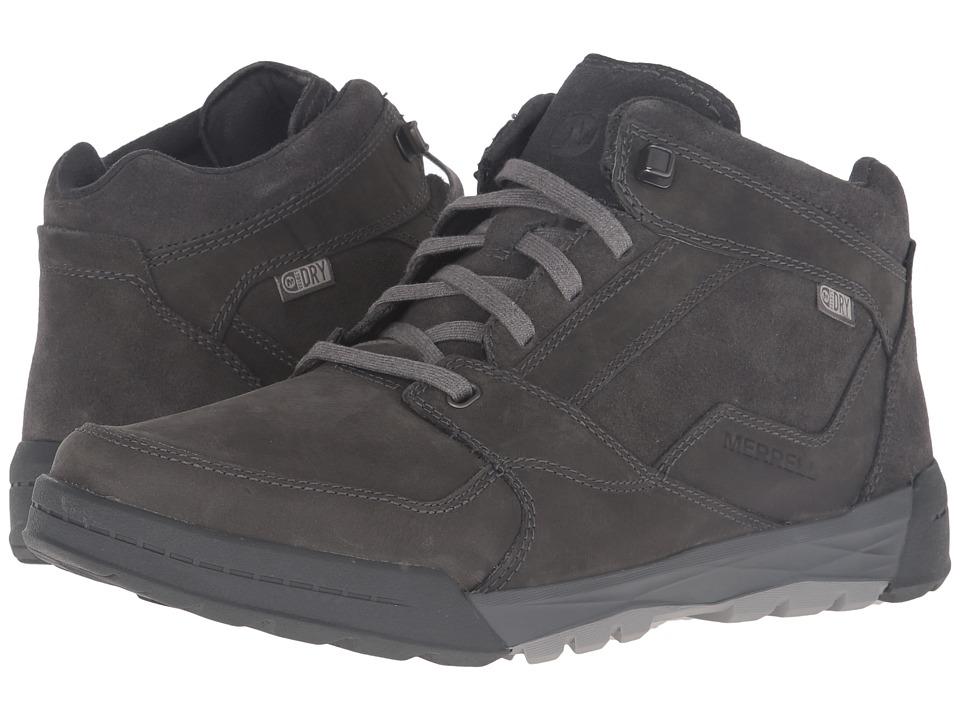Merrell - Berner Mid Waterproof (Castlerock) Men's Lace up casual Shoes