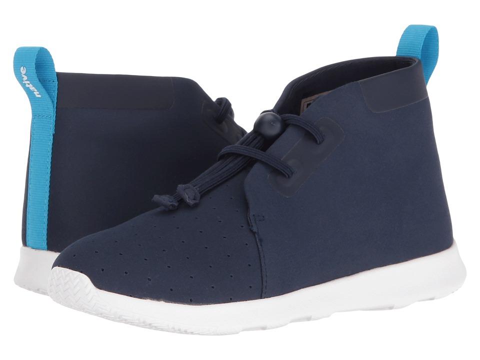 Native Kids Shoes - AP Chukka (Little Kid) (Regatta Blue/Shell White) Kid's Shoes