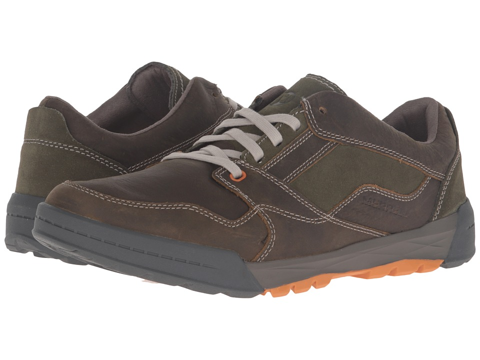 Merrell - Berner Lace (Dusty Olive) Men's Lace up casual Shoes