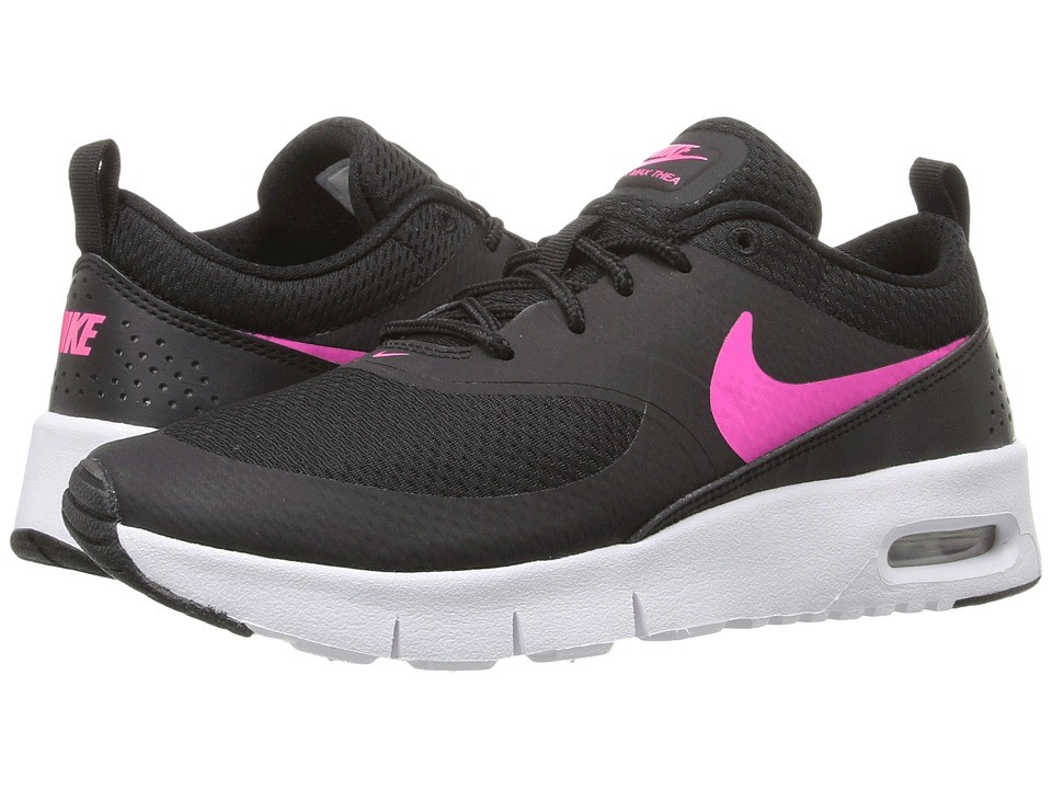 Nike Kids Air Max Thea (Little Kid) (Black/White/Hyper Pink) Girls Shoes