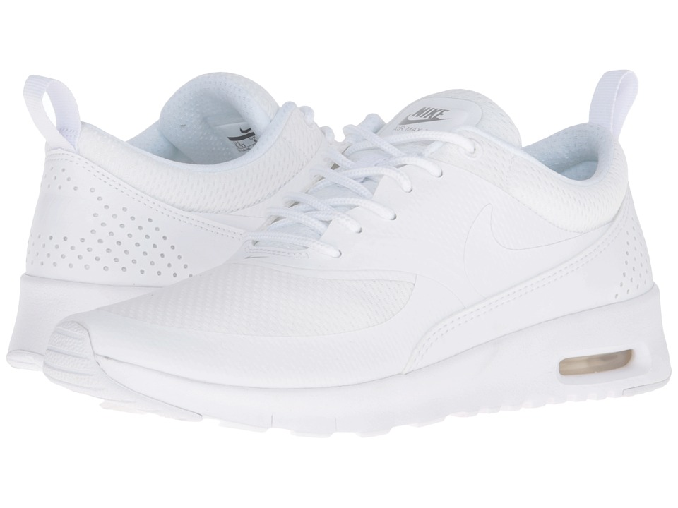 Nike Kids - Air Max Thea (Big Kid) (White/Metallic Silver/White) Girls Shoes