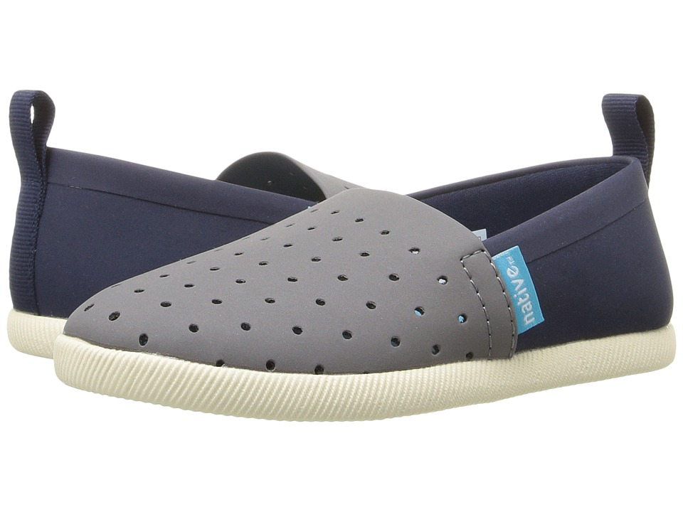 Native Kids Shoes - Venice (Toddler/Little Kid) (Dublin Grey/Regatta Blue/Bone White/Two-Tone) Kid's Shoes