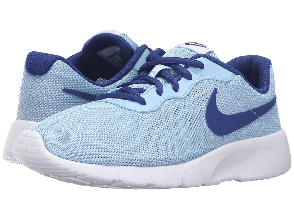 Nike Kids - Tanjun (Big Kid) (Blue Cap/White/Deep Royal Blue) Girls Shoes