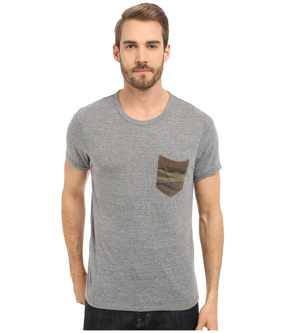 Alternative - Pocket Crew (Eco Grey/Camo) Men's Short Sleeve Pullover