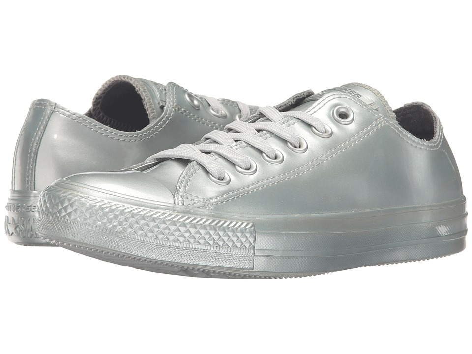 Converse - Chuck Taylor All Star Metallic Rubber Ox (Pure Silver/Pure Silver/Pure Silver) Women's Lace up casual Shoes
