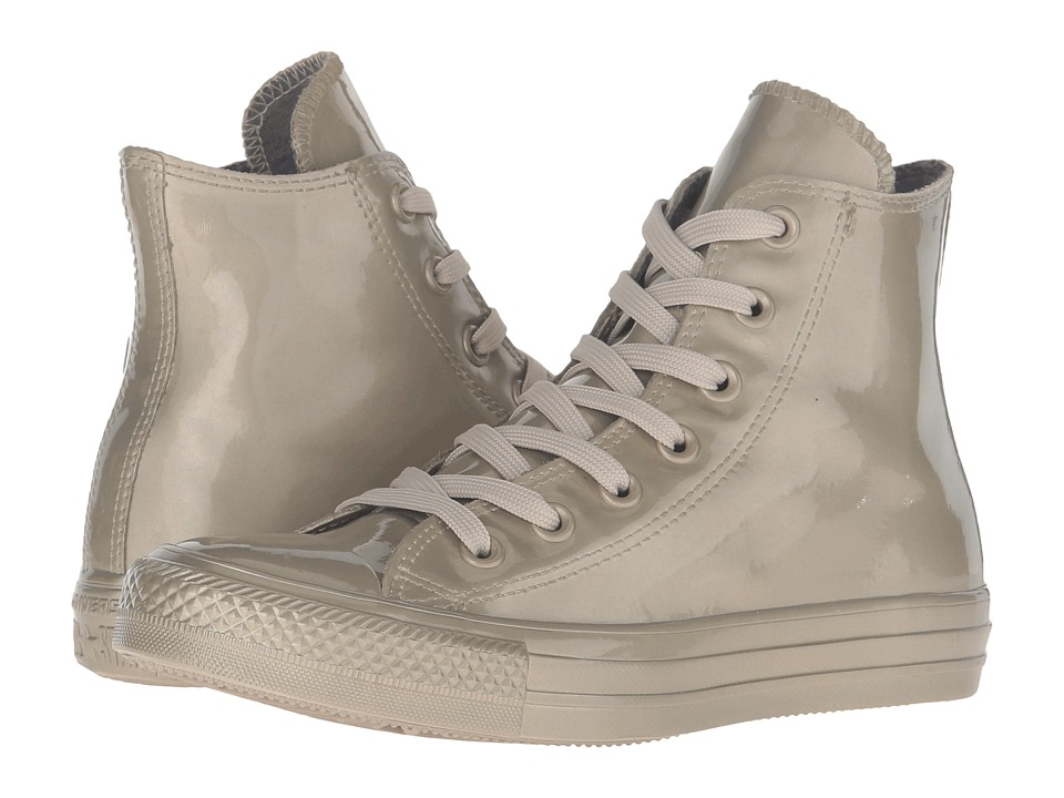 Converse - Chuck Taylor All Star Metallic Rubber Hi (Light Gold/Light Gold/Light Gold) Women's Lace up casual Shoes