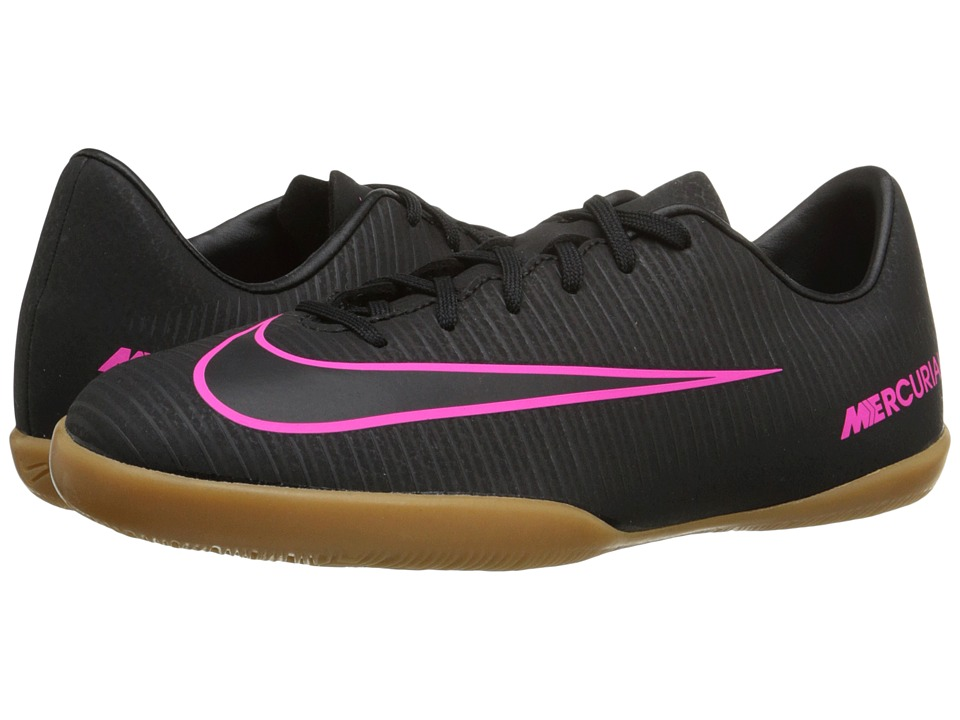 Nike Kids - JR Mercurial Vapor XI IC Soccer (Toddler/Little Kid/Big Kid) (Black/Black) Kids Shoes