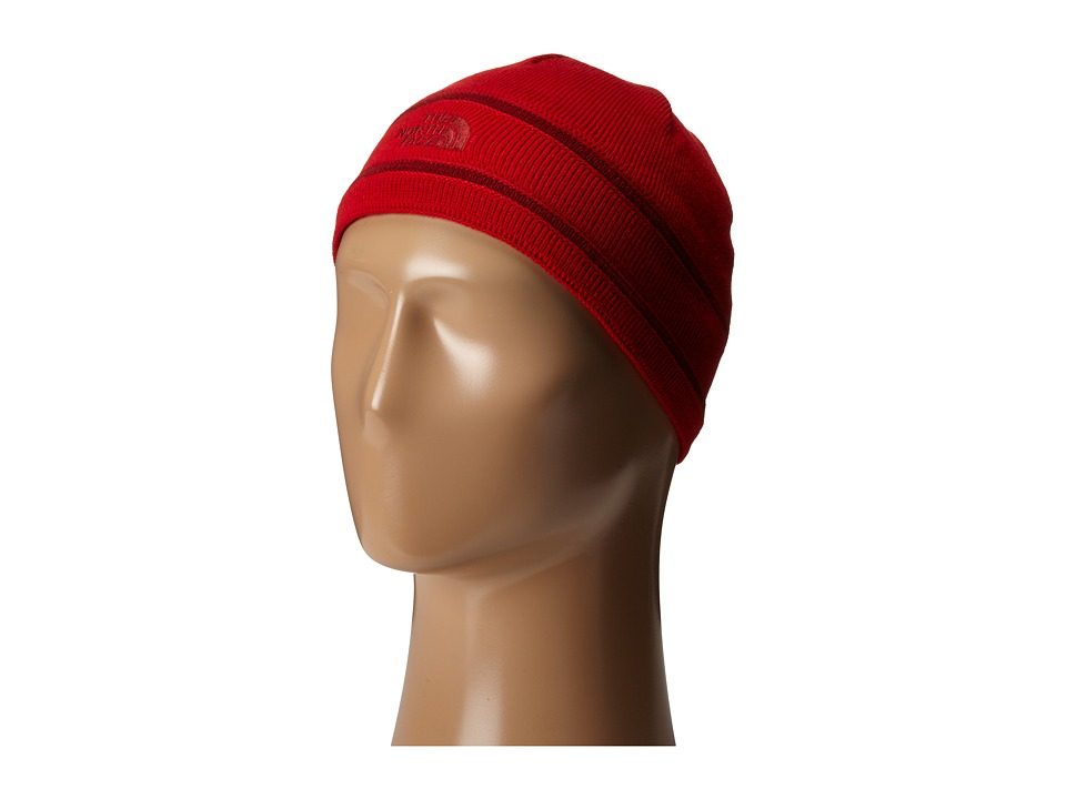 The North Face Kids - TNF Logo Beanie (Big Kids) (TNF Red) Beanies