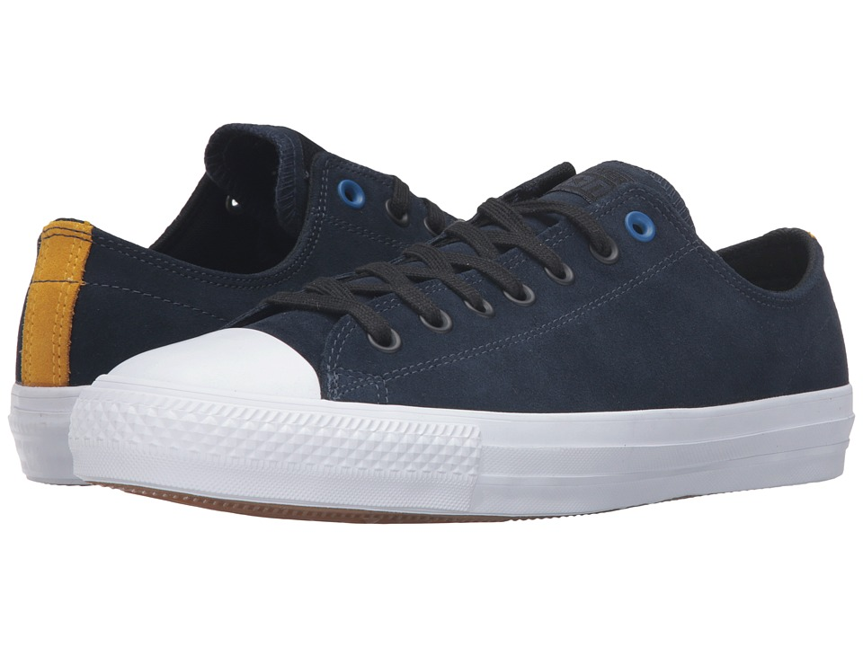 Converse - Chuck Taylor All Star Pro Suede 90's Color Ox (Obsidian/Black/White) Lace up casual Shoes