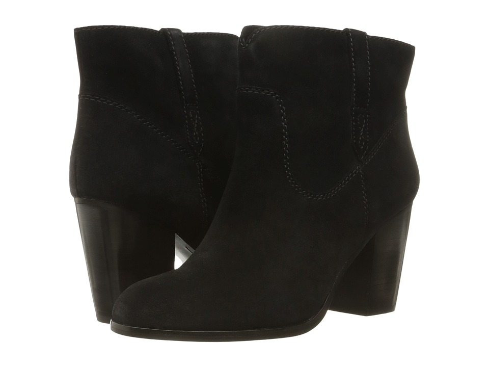 Frye Myra Bootie (Black Oiled Suede) Women