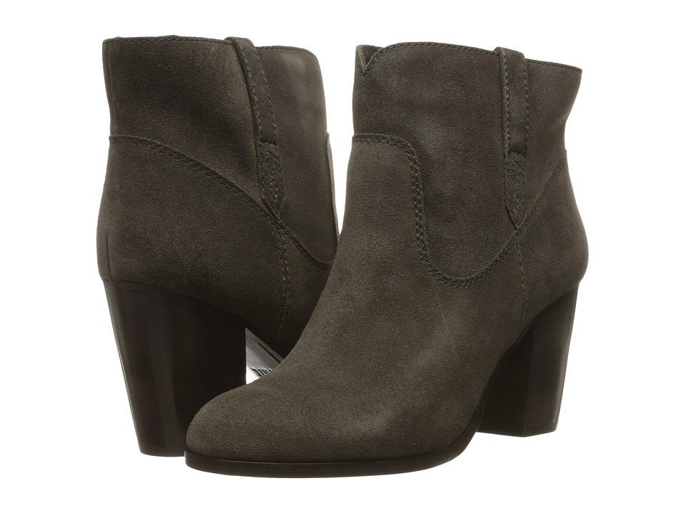 Frye - Myra Bootie (Smoke Oiled Suede) Women's Boots