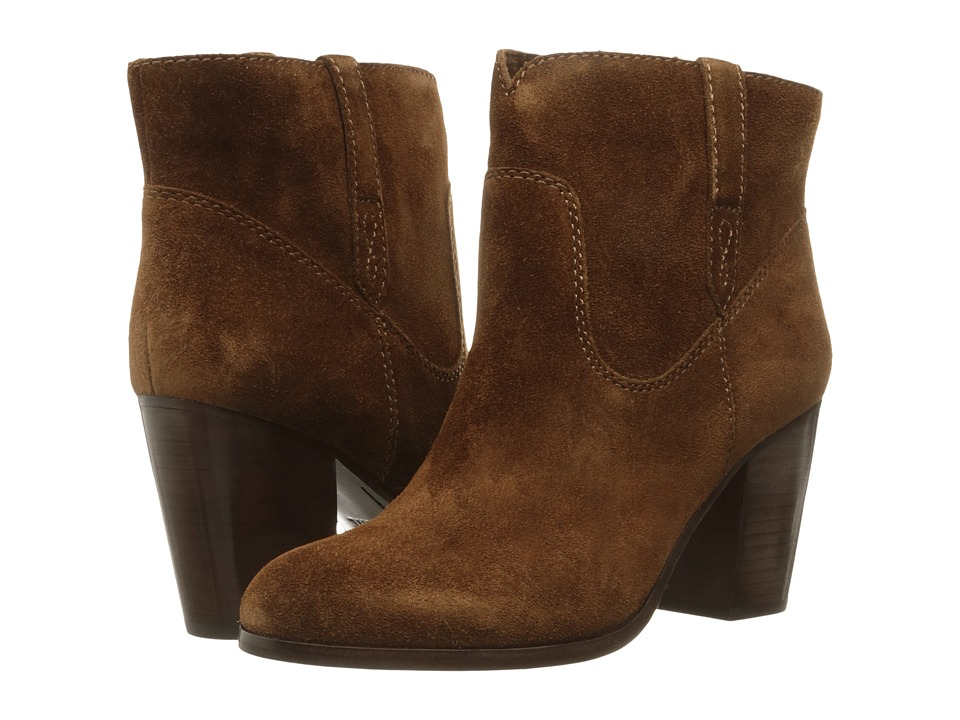 Frye Myra Bootie Wood Oiled Suede Womens Boots