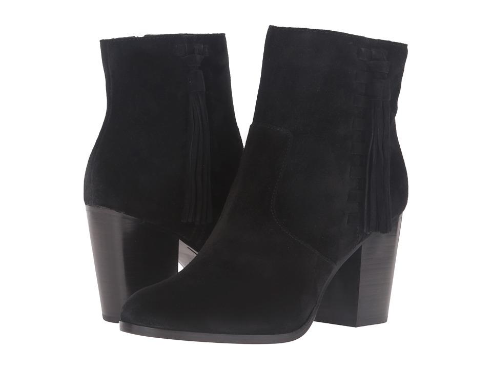 Frye - Myra Tassel Lace (Black Oiled Suede) Women's Boots