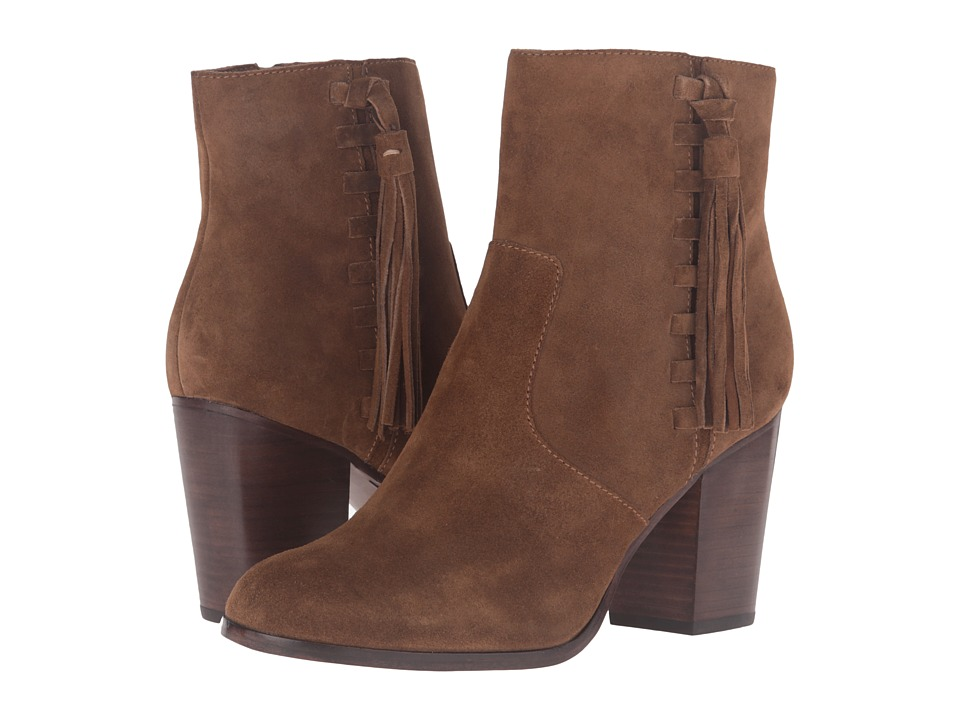 Frye - Myra Tassel Lace (Chestnut Oiled Suede) Women's Boots