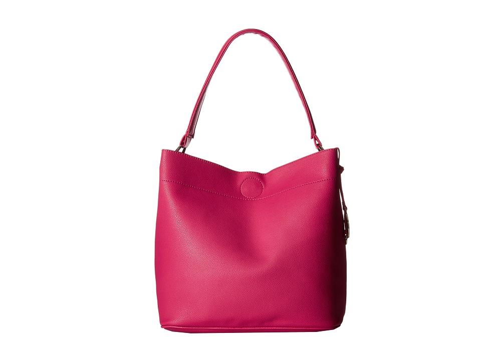 CARLOS by Carlos Santana - Natalia Bucket (Fuchsia) Tote Handbags
