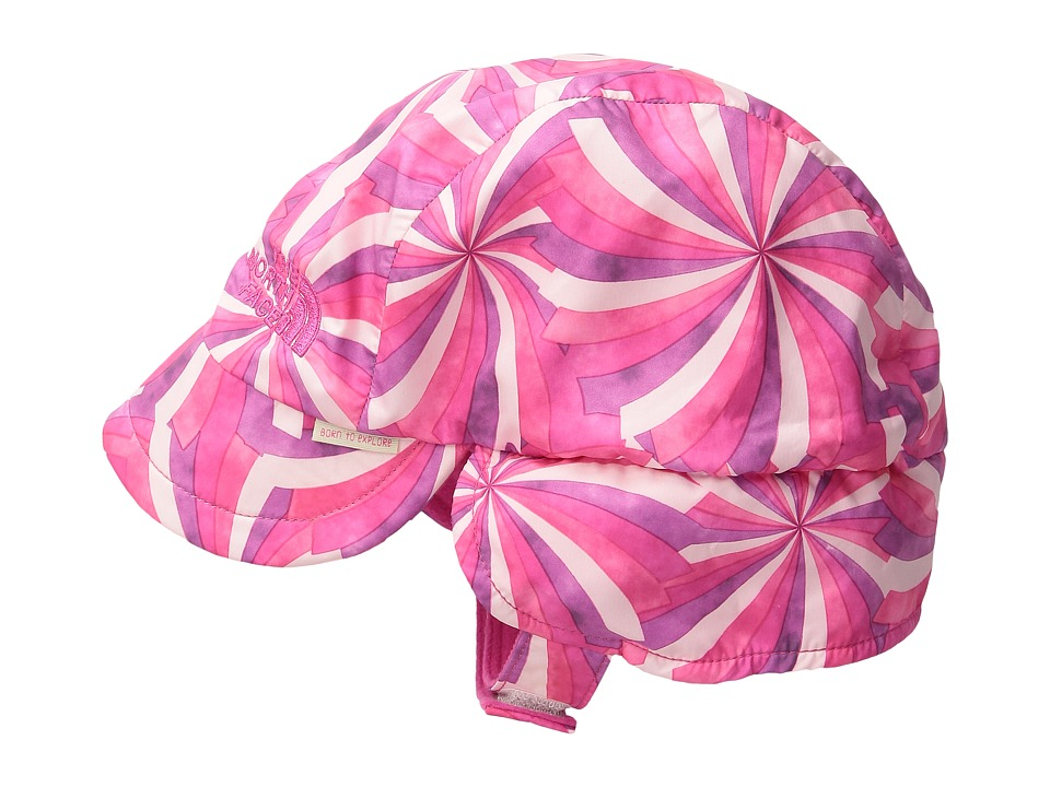 The North Face Kids - Flapjacks Hat (Infant) (Cha Cha Pink Pinwheel Print (Prior Season)) Caps