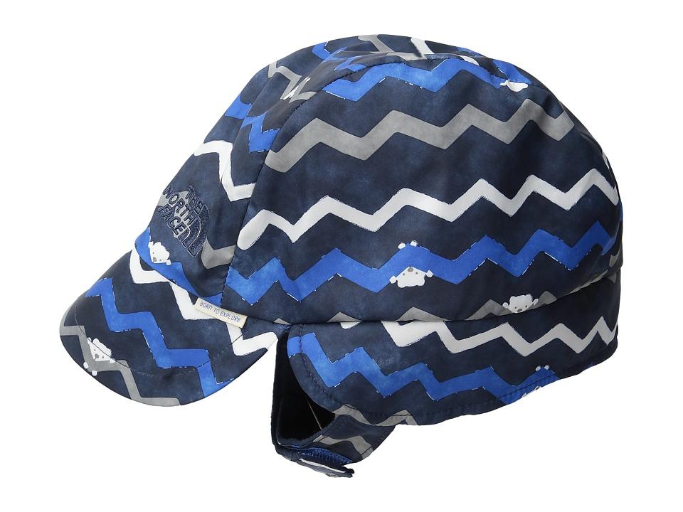 The North Face Kids - Flapjacks Hat (Infant) (Jake Blue Chevron Print) Caps