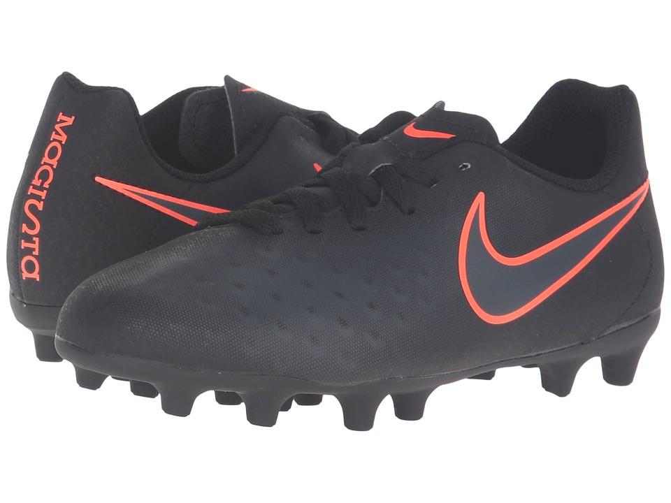 Nike Kids - Jr Magista Ola II FG Soccer (Little Kid/Big Kid) (Black/Black) Kids Shoes