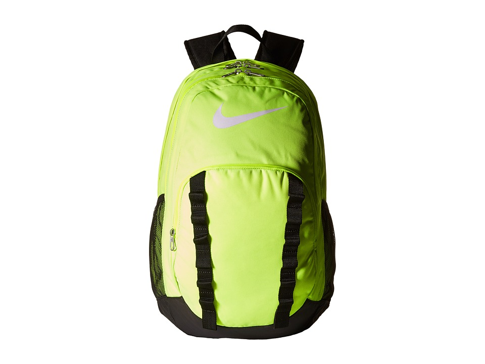 Nike - Brasilia 7 Backpack XL (Volt/Black/White) Backpack Bags