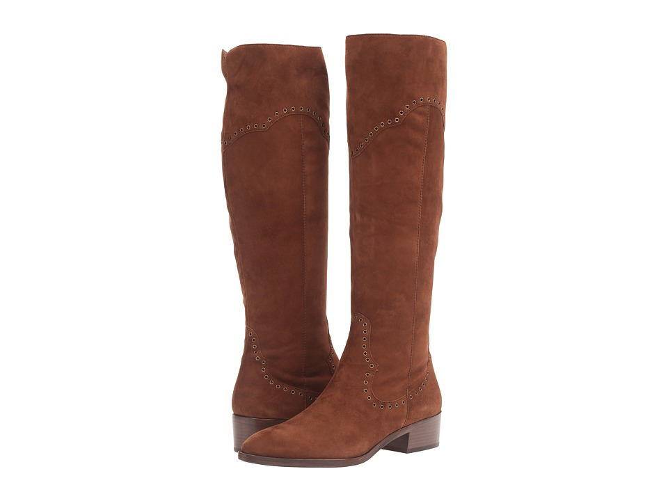 Frye - Ray Grommet Tall (Wood Suede) Women's Boots