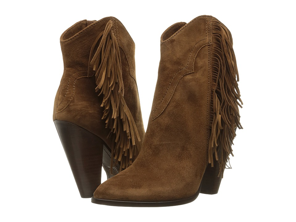 Frye - Remy Fringe Short (Wood Suede) Women's Boots