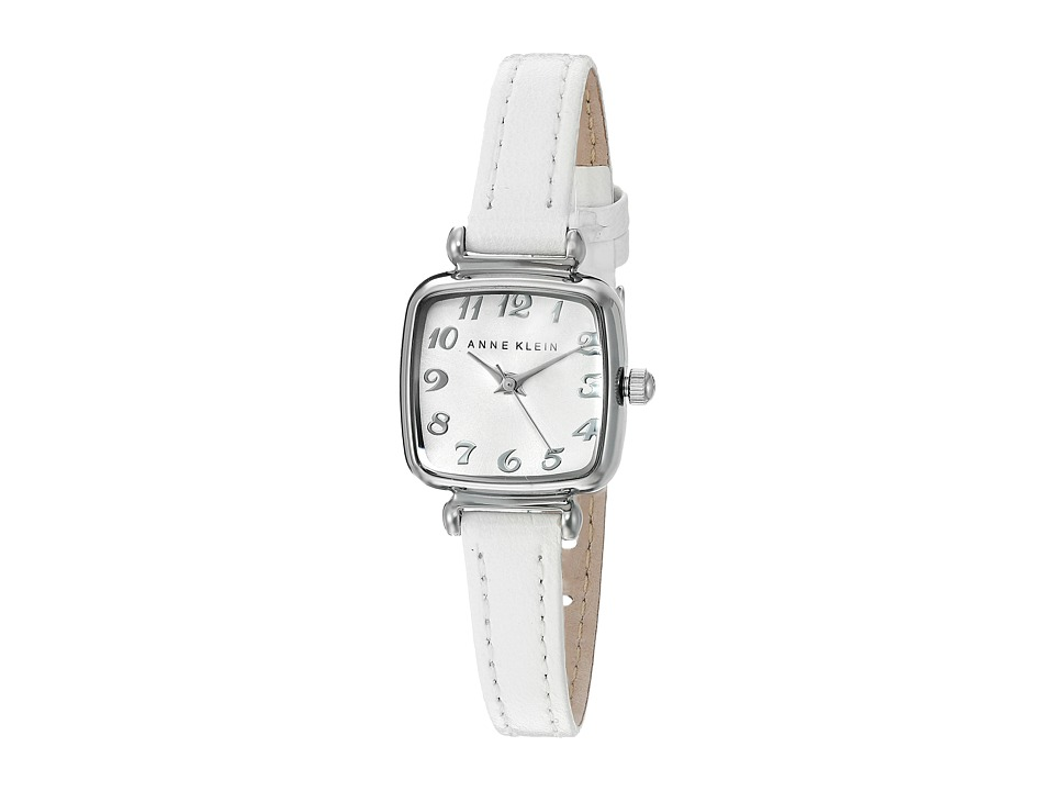 Anne Klein - AK-2385SVWT (Silver/White) Watches