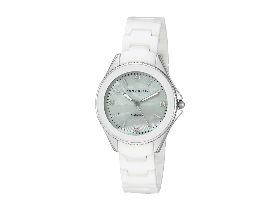 Anne Klein - AK-2391WTSV (White) Watches