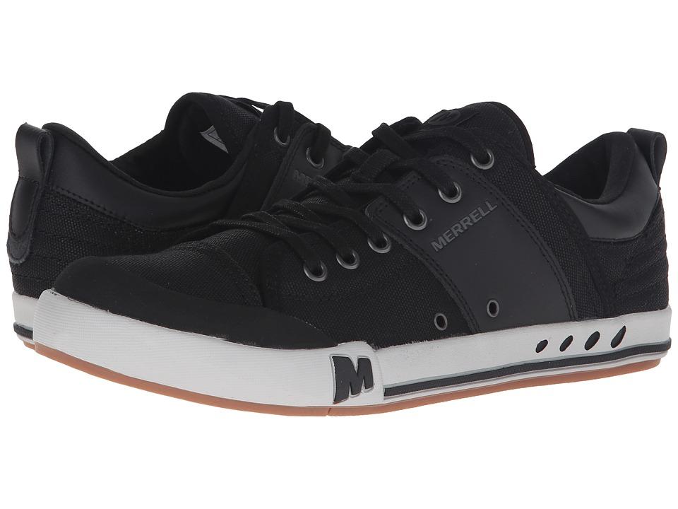Merrell - Rant (Black/Black) Men's Lace up casual Shoes