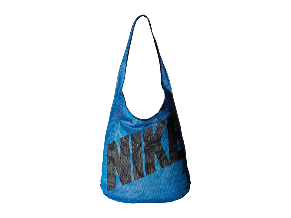 Nike - Graphic Reversible Tote (Light Photo Blue/Deep Royal Blue/Black) Tote Handbags
