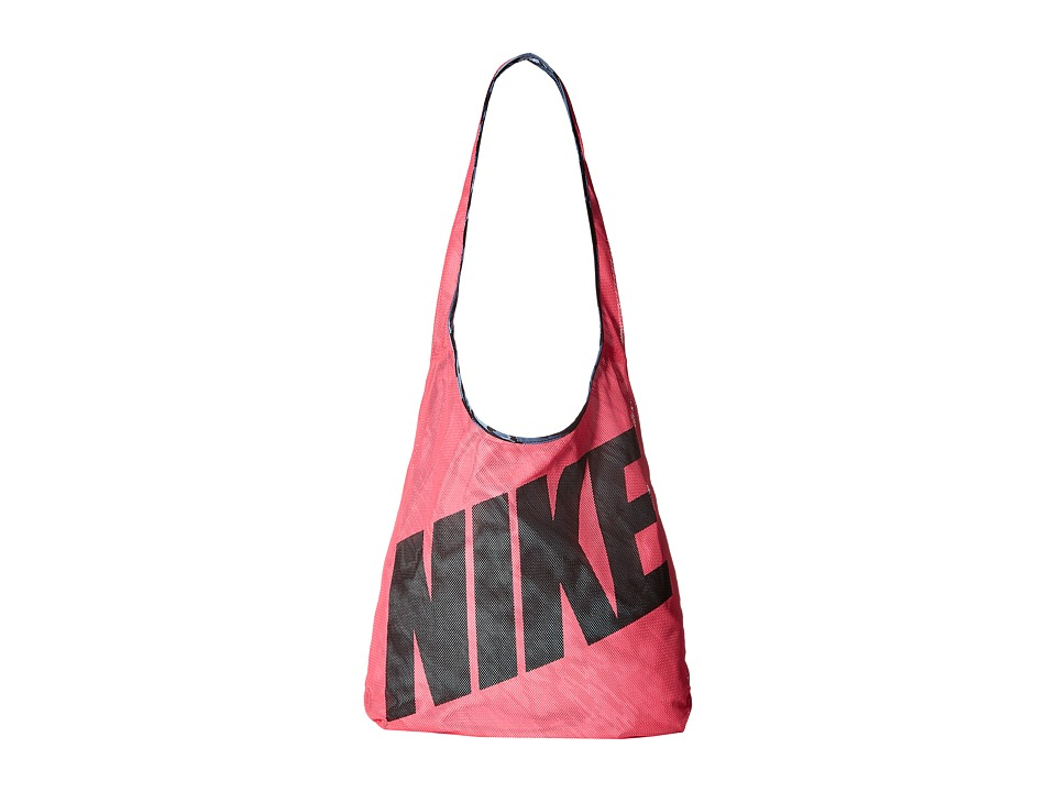 Nike - Graphic Reversible Tote (Hyper Pink/Ocean Fog/Black) Tote Handbags