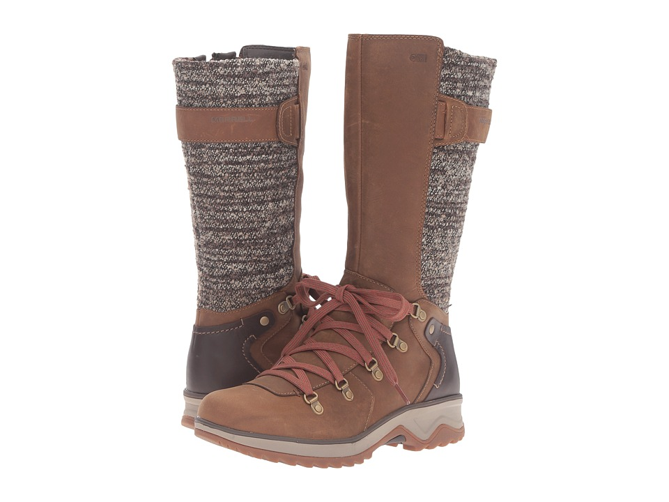 Merrell - Eventyr Peak Waterproof (Merrell Tan) Women's Lace-up Boots