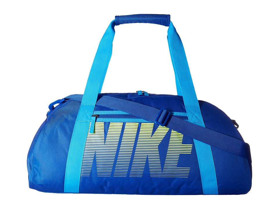 Nike - Gym Club (Game Royal/Blue Glow/Volt) Duffel Bags