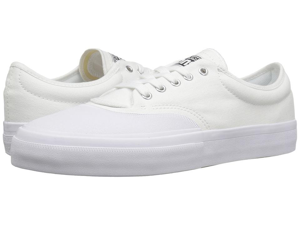 Converse Skate - Crimson Core Canvas Ox (White/Black/Natural) Lace up casual Shoes