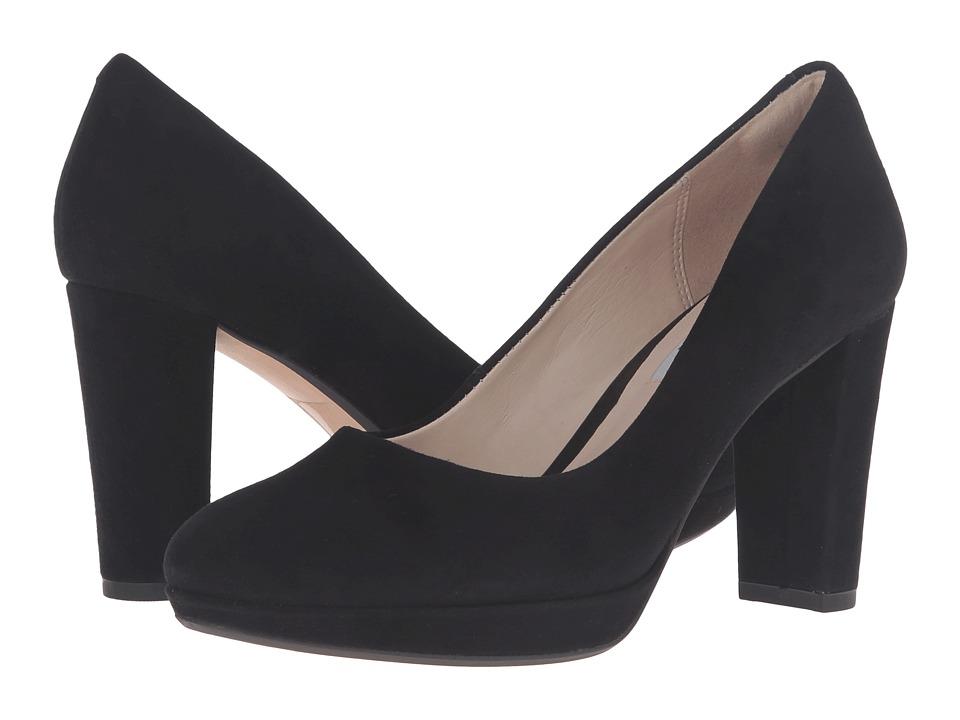 Clarks - Kendra Sienna (Black Suede) High Heels