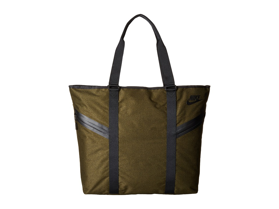 Nike - Azeda Tote Premium (Dark Loden/Dark Loden/Black) Tote Handbags
