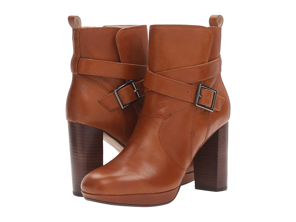 Clarks - Gabriel Mix (Tan Leather) Women's Pull-on Boots